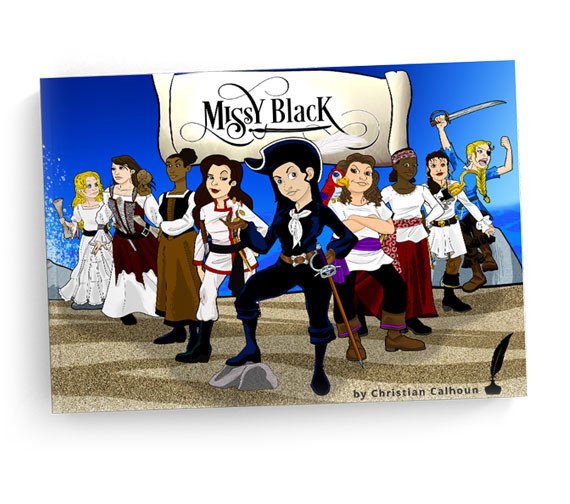Book Cover Design - Missy Black Illustrated