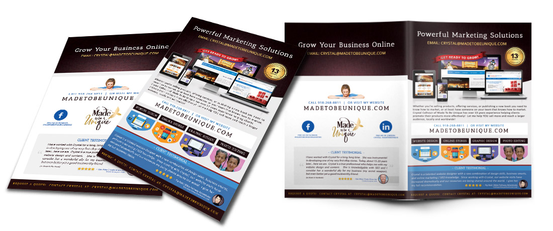 Custom Brochure Design Services