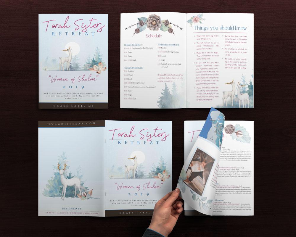 Brochure Design for Conference Retreat