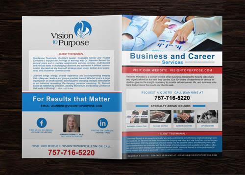 Custom Business Brochure Design