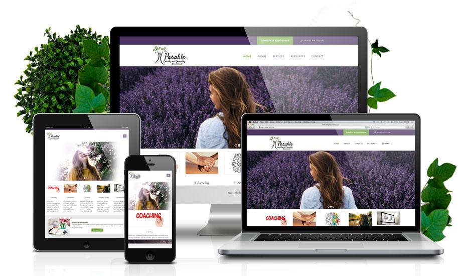 Responsive Ministry Website Design